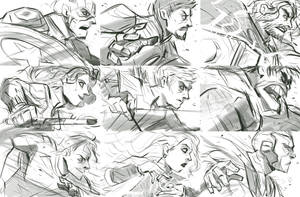 Avengers AOU roughs by zgul-osr1113