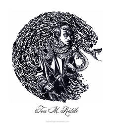 Tom M. Riddle by Sasha-Engel