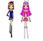 Junie B and Cure Magnolia by EllaXxXAmu