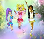 Flower Harmony Precure BG by EllaXxXAmu