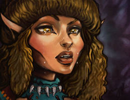2015 Elfquest Fan Calendar - Cover by MaRge-KinSon
