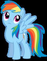 MLP:FIM - Vector #16 - Rainbow Dash #4 by DashieSparkle