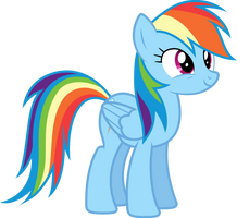Vector #49 - Rainbow Dash #9 by DashieSparkle