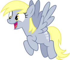 Vector #187 - Derpy Hooves #5 by DashieSparkle