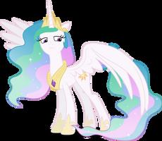 Vector #200 - Princess Celestia by DashieSparkle