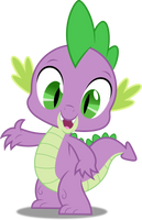 Vector #232 - Spike #9 by DashieSparkle
