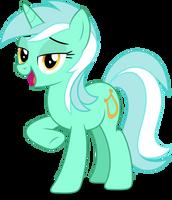 Vector #242 - Lyra Heartstrings #2 by DashieSparkle