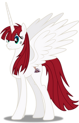 Vector #300 - Fausticorn by DashieSparkle