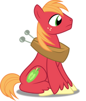 Vector #392 - Big McIntosh #3 by DashieSparkle