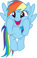 Vector #433 - Rainbow Dash #55 by DashieSparkle