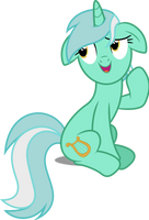 Vector #484 - Lyra Heartstrings #4 by DashieSparkle