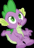 Vector #485 - Spike #17 by DashieSparkle