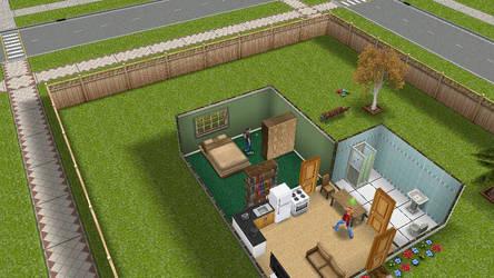 Sim's house by BlazingLife97