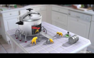 Kitchen tourism - Family Five by Didou83