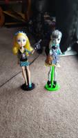 Blondie Stein and Frankie Lockes by PrincessGemSquirrel