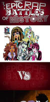 Monster High Ghouls vs. The Ghoul School Girls by PrincessGemSquirrel