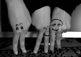 Finger People by ausrejurke