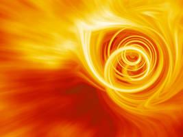Burning Waves by ausrejurke