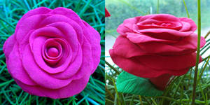 My Very First Clay Rose by ausrejurke