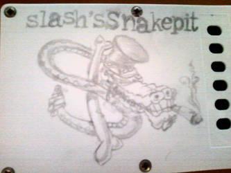 slash's snakepit logo by DarkyTheWildGirl