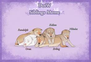 Oruz' Siblings by Welihn