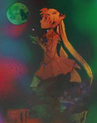 sailor moon by Leaf-oneesan