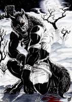 Skyline Werewolf by Thalbachin