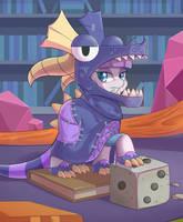 Maud pie The Dragon Form by tikrs007