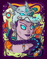 Fantasy hunter by TheDigitalMethod