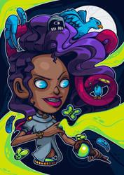 Spirits / La hechicera by TheDigitalMethod