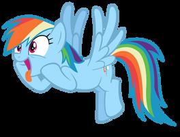 Rainbow Dash wants cider! by MasterRottweiler