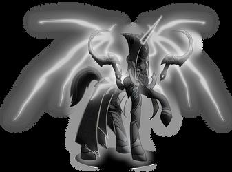 My Little Diablo: Malthael (Reaper of Souls) by MasterRottweiler