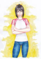 Kaorin Pendragon [Raffle prize] by LeilaAscariz