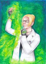 Dr. Sloan [Gift art] by LeilaAscariz