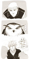 Comic-strip: Owl by somik