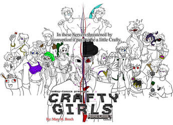 Craftygirls Cover .:WIP:. by MidNight-Vixen