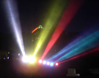 Spotlight on the Falls by xevitadorax