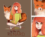 La fille du Renard by SuperAdele