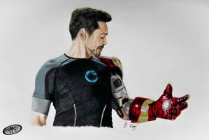 Tony Stark by RemyJuju