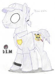 FNaF's Purple Stallion by Darkman224