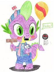 Balloon Dragon Spike by Darkman224