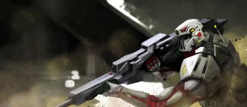 gunman by Yip-Lee