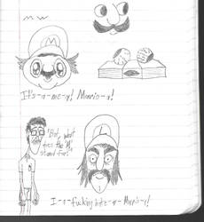 What Does The M On Mario's Hat Stand For? by Curly-Caullin
