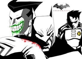 Batman Arkham City - Animated by ryan-98