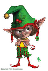 X-Mas Elf... by Miggs69