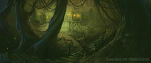 Swamp shack... by Miggs69