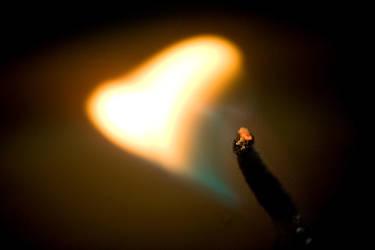 Burning Fire I by LaCaroratcha