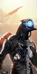 Legion - Mass Effect by LoginovLS