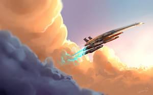 Normandy SR2  - Mass Effect by LoginovLS