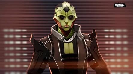 Thane Krios - Mass Effect by LoginovLS